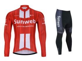 ست پیراهن و شورت دوچرخه سان وب Sunweb L/S