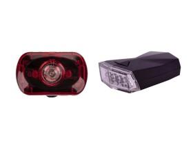 ست چراغ جلو و عقب دوچرخه اوکی مدل XC-988115